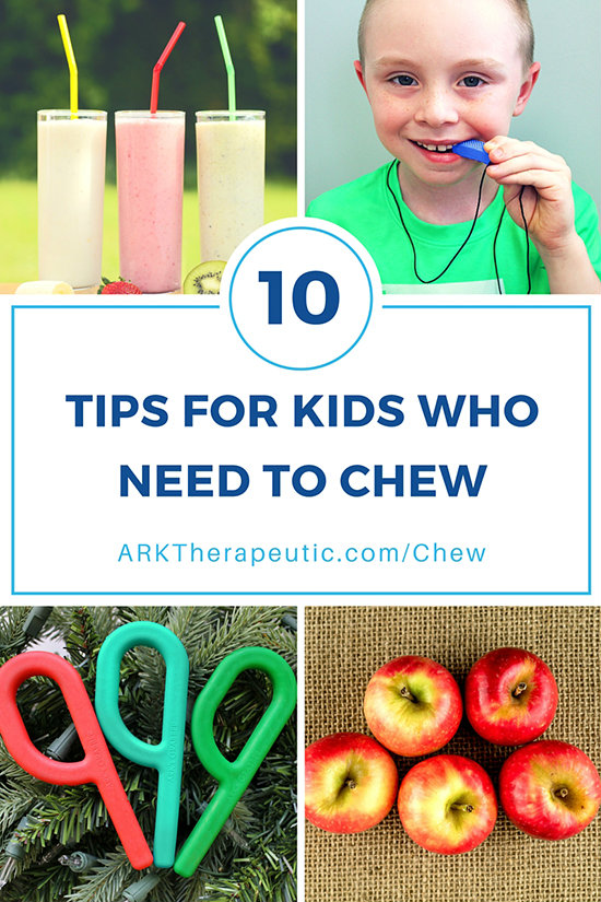 10 Tips for Kids Who Need to Chew - An Oral Sensory Diet