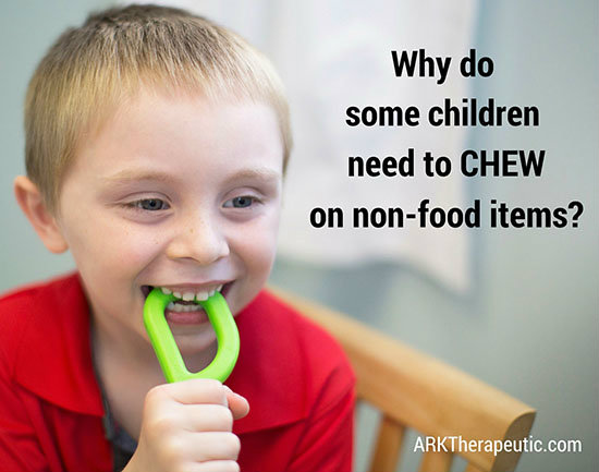 Why Does My Older Child Chew on Everything?