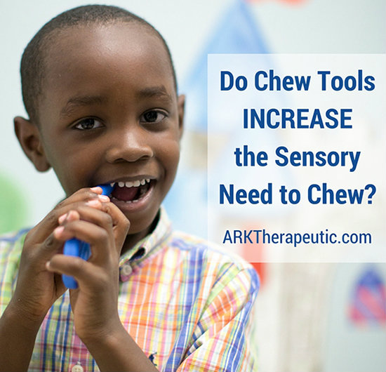 Do Chew Tools Increase the Need to Chew?