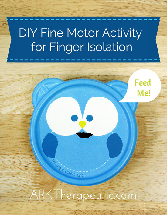 DIY Fine Motor Activity for Finger Isolation