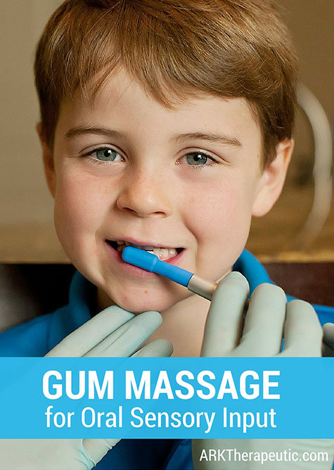Gum Massage for Oral Stimulation