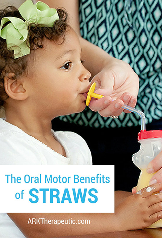 The Oral Motor Benefits of Straws