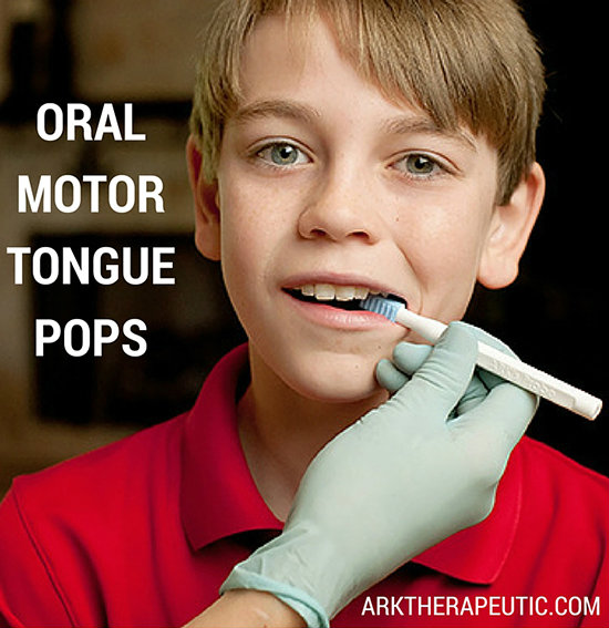 Tongue Pop Oral Motor Exercises
