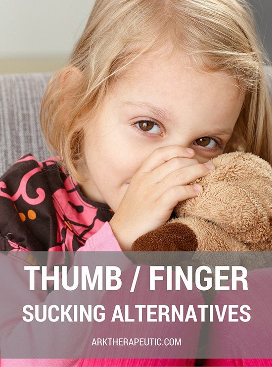 Thumb / Finger Sucking Alternatives