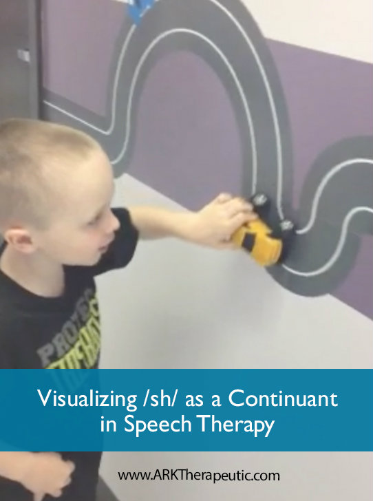 Visualizing /sh/ as a Continuant in Speech Therapy